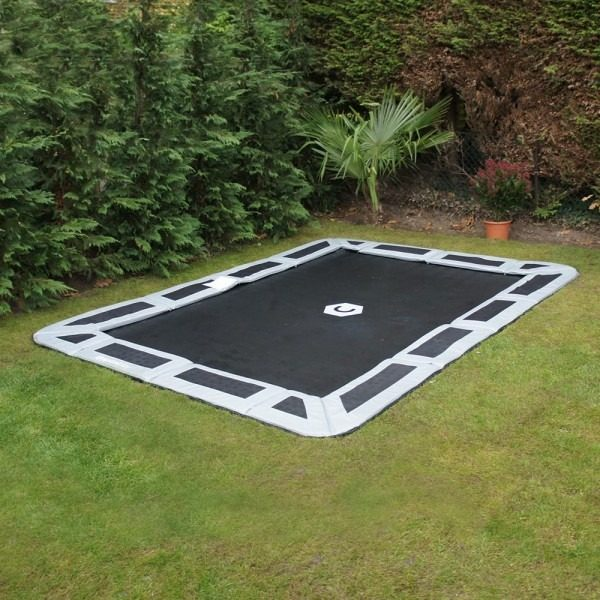 10ft x 6ft In-Ground Trampoline
