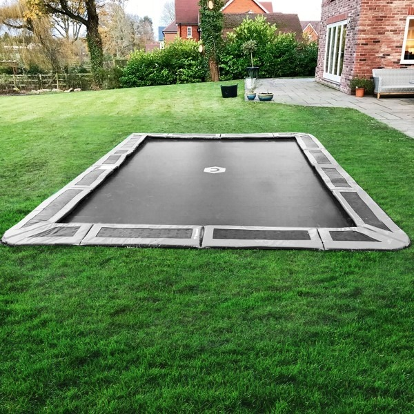 14ft Trampolines: Buy BEST & SAFEST 14 Foot Inground
