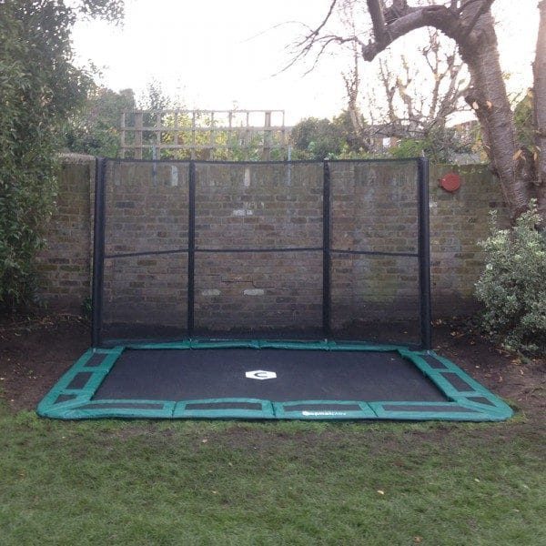 14ft x 10ft Capital In-Ground Trampoline Safety Enclosure