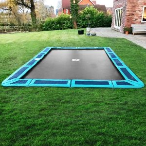 14ft x 10ft Rectangular InGround Trampoline