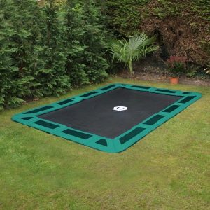 11ft x 8ft sunken trampoline