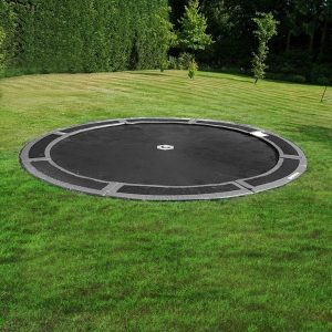 12ft round in ground trampoline
