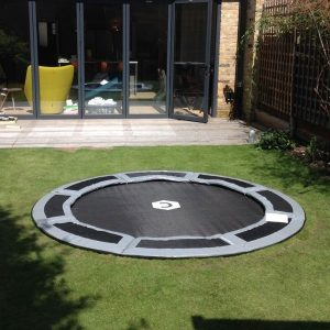 8ft in ground trampoline