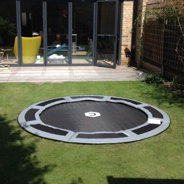 8ft in ground trampoline