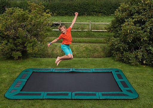 Rectangle In-ground trampoline
