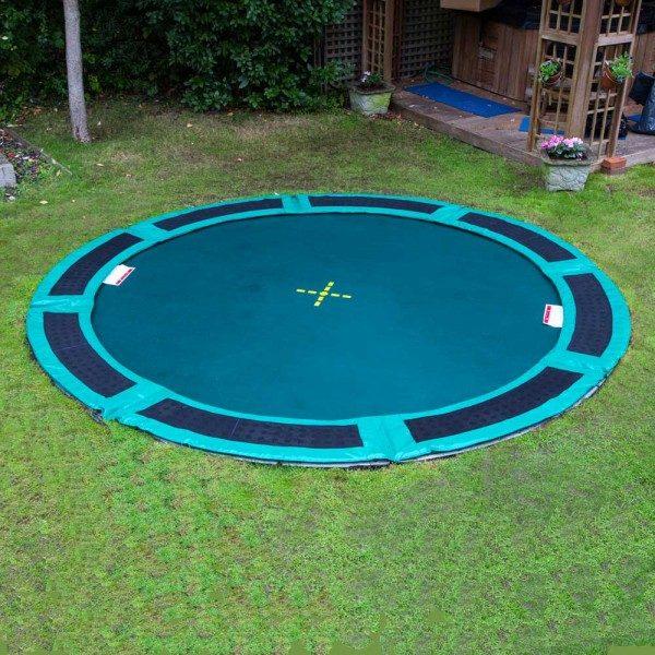 10 ft ground trampoline