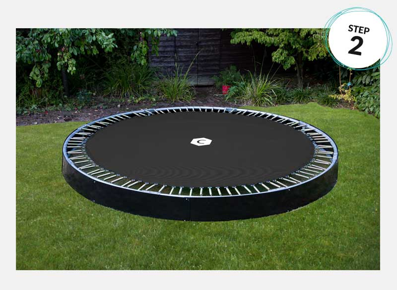 In-Ground Trampoline Installation